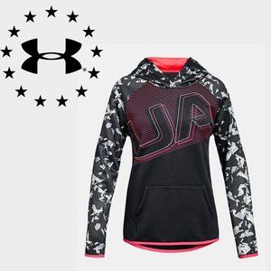 Under Armour Abstract Color Block Hoodie - YSM